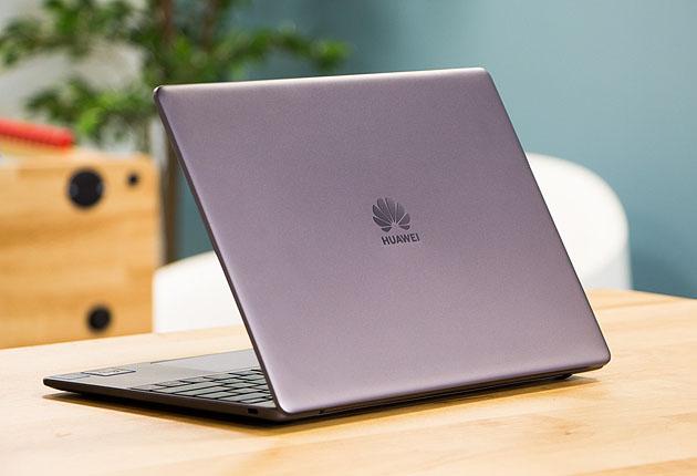 Huawei MateBook 13 tył profil