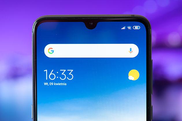 Xiaomi Mi 9 - cienkie ramki