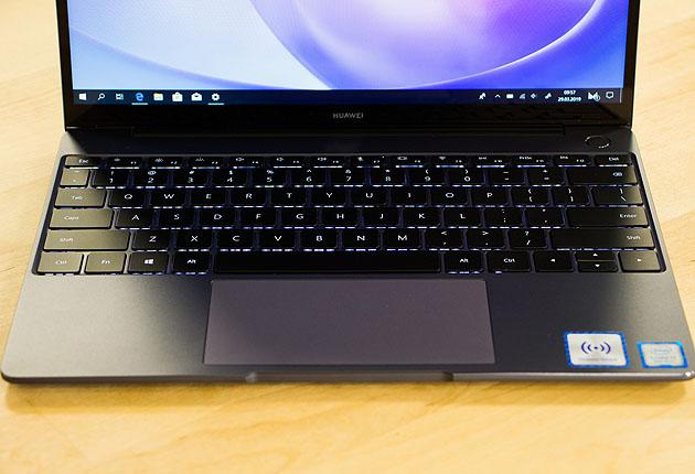 Huawei MateBook 13 - klawiatura