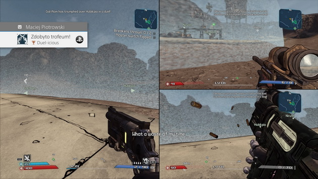 Borderlands: Game of the Year Edition - 3 osobowa kooperacja na jednym ekranie