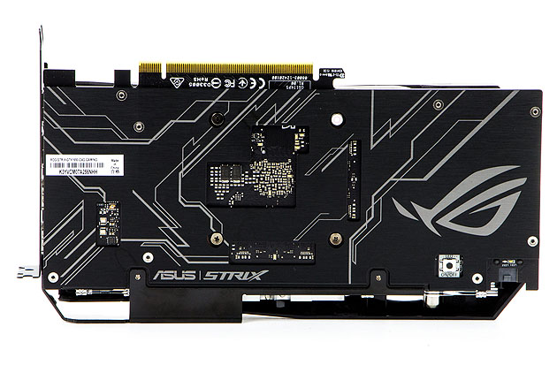 ASUS ROG STRIX O4G Gaming GTX 1650 - backplate