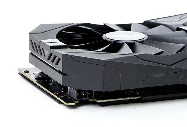 ASUS ROG STRIX O4G Gaming GTX 1650 - dodatkowe gniazdko zasilania