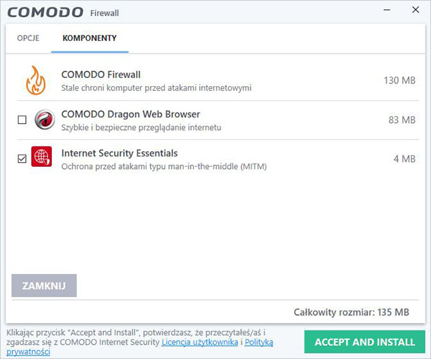 Comodo Free Firewall