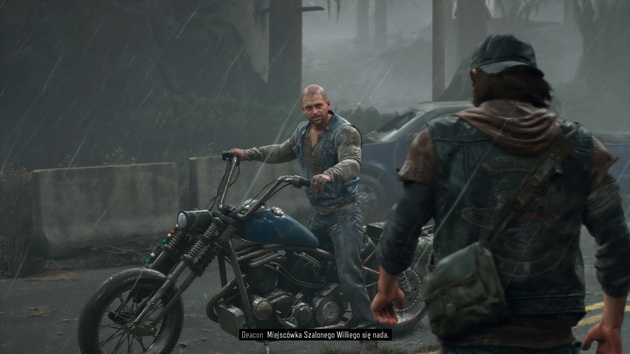 Days Gone - Boozer na motocyklu