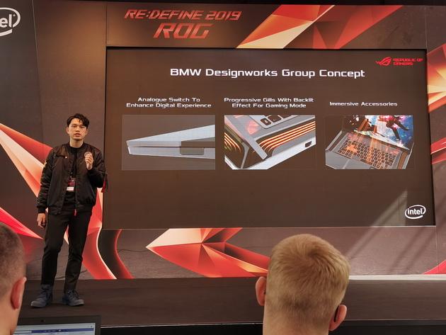 ASUS REDEFINE 2019 ROG - STRIX i BMW