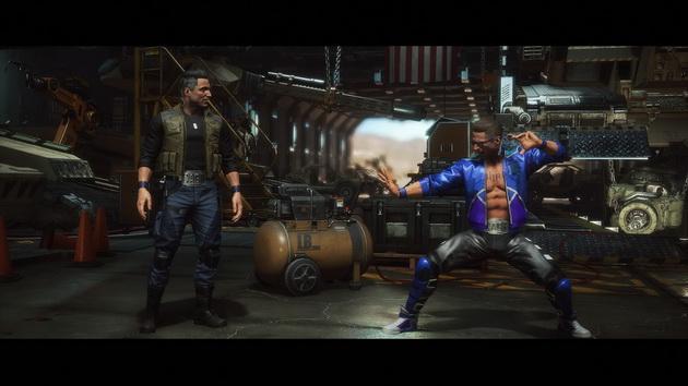 Mortal Kombat 11 - Cage vs Cage
