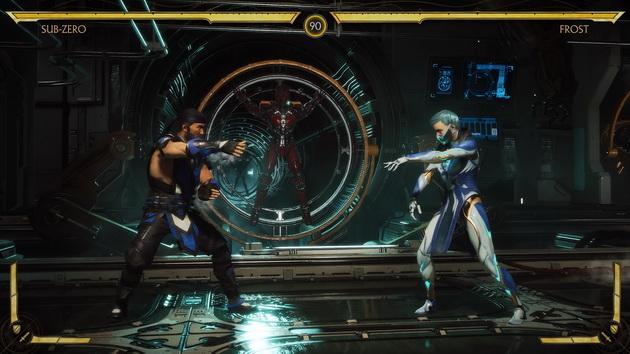 Mortal Kombat 11 - walka Sub-Zero z Frost