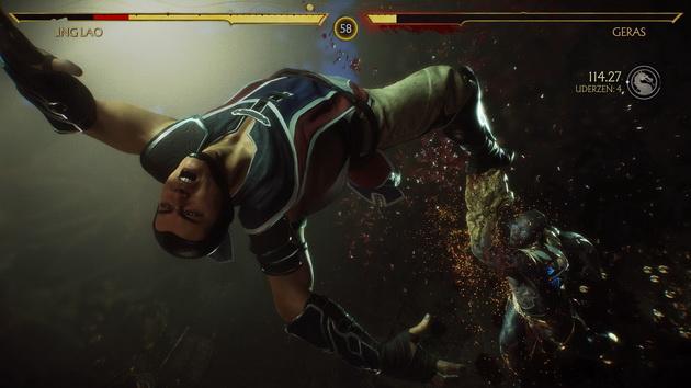 Mortal Kombat 11 - Geras w akcji