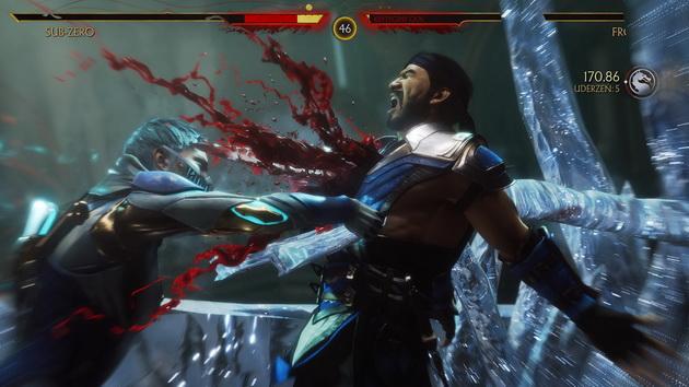 Mortal Kombat 11 - Fatal Blow w wykonaniu Frost