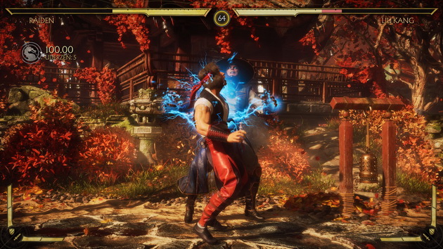 Mortal Kombat 11 - chwyt Raidena