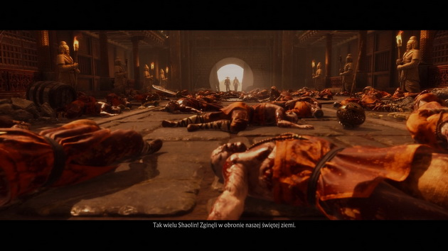 Mortal Kombat 11 - klasztor Shaolin