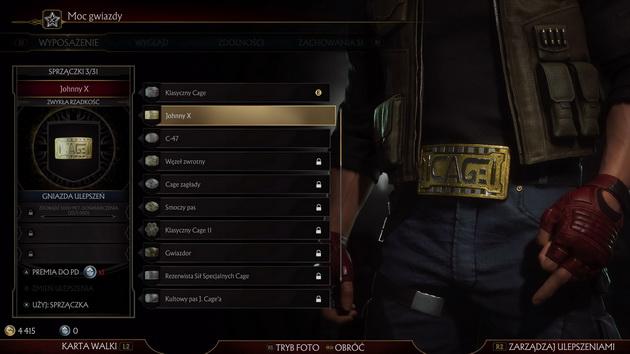 Mortal Kombat 11 - sprzączka do paska