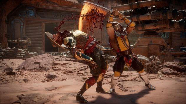 Mortal Kombat 11 - Raiden vs Scorpion