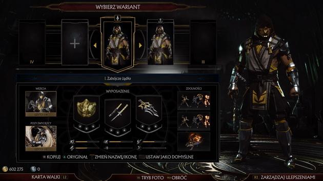 Mortal Kombat 11 - warianty