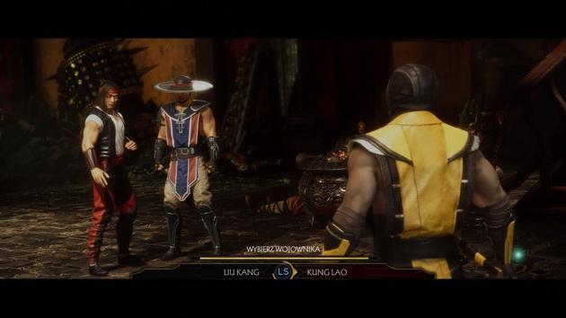 Mortal Kombat 11 - wybór zawodnika
