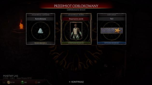 Mortal Kombat 11 - zawartość skrzyni