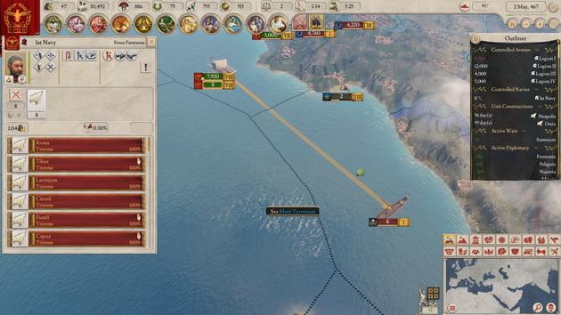 Imperator: Rome - walka morska