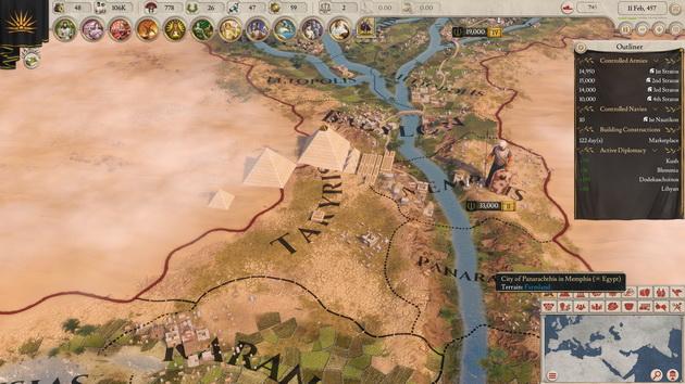Imperator: Rome - Egipt