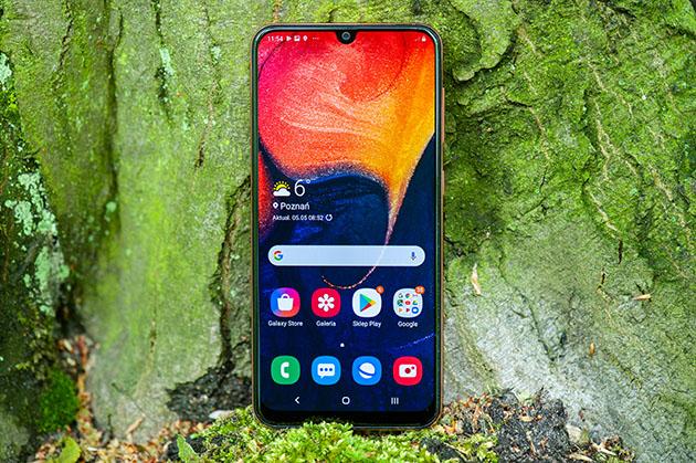 Galaxy A50 - wyświetlacz