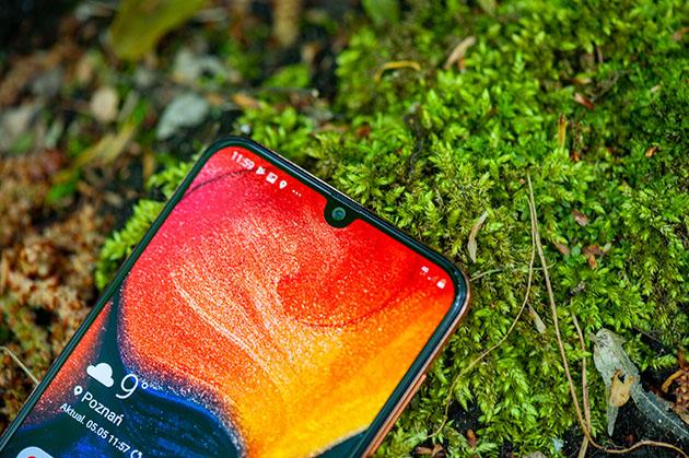 Samsung Galaxy A50 - notch
