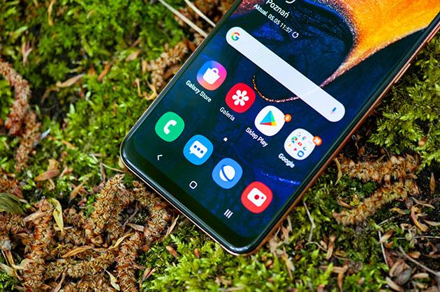 Samsung Galaxy A50 - dolna ramka