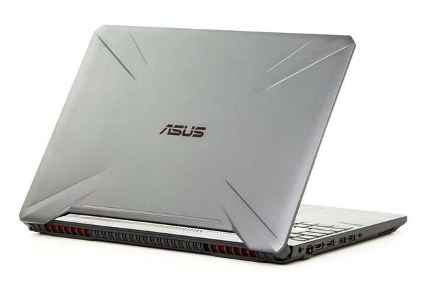 Asus TUF Gaming FX505DU tył profil