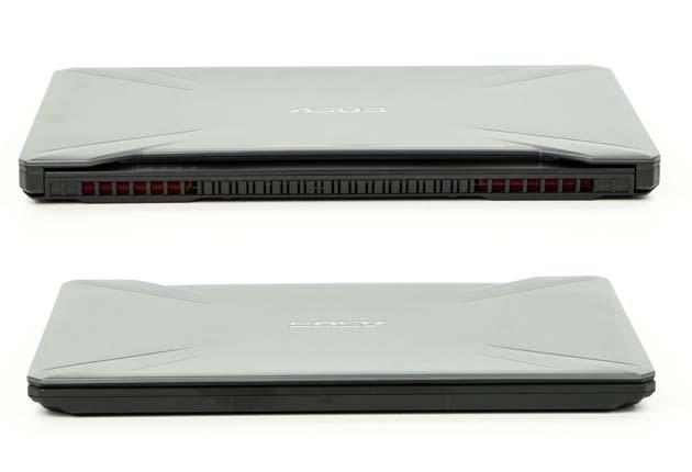 Asus TUF Gaming FX505DU przód i tył