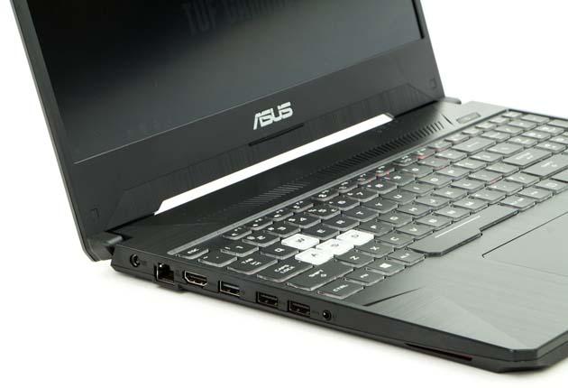 Asus TUF Gaming FX505DU lewy bok