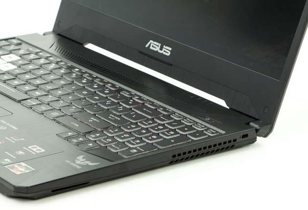Asus TUF Gaming FX505DU prawy bok