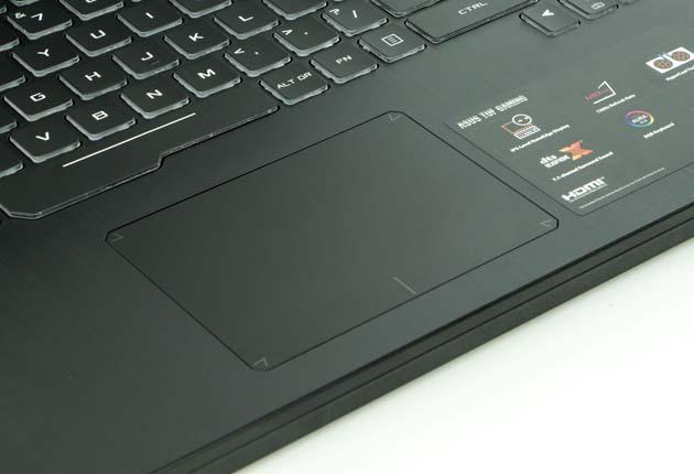 Asus TUF Gaming FX505DU touchpad