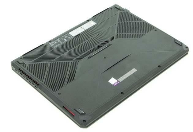Asus TUF Gaming FX505DU spód