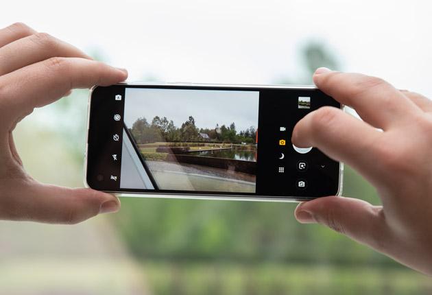 Motorola One Vision fotografowanie