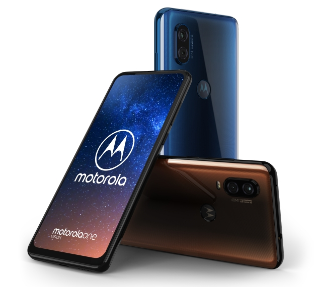 Motorola One Vision kolory