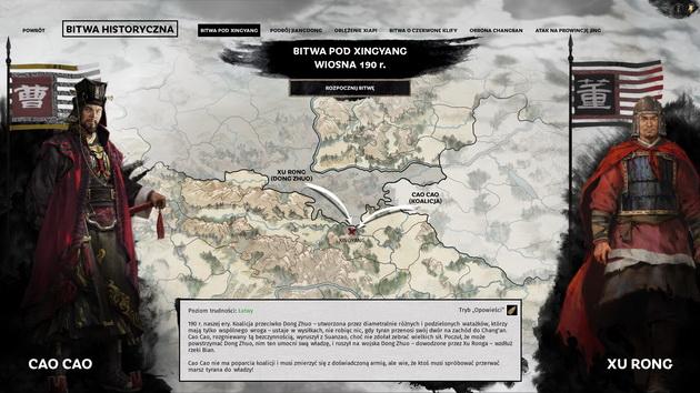 Total War: Three Kingdoms - bitwa historyczna