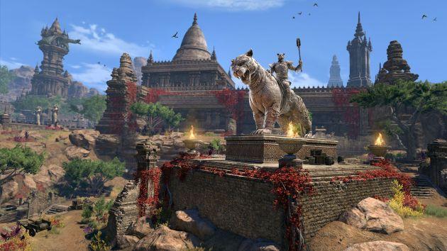 The Elder Scrolls Online: Elsweyr - krajobrazy