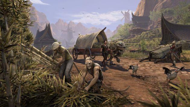 The Elder Scrolls Online: Elsweyr - uprawa trzciny
