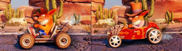 Crash Team Racing Nitro-Fueled - możliwość modyfikacji wyglądu zawodników