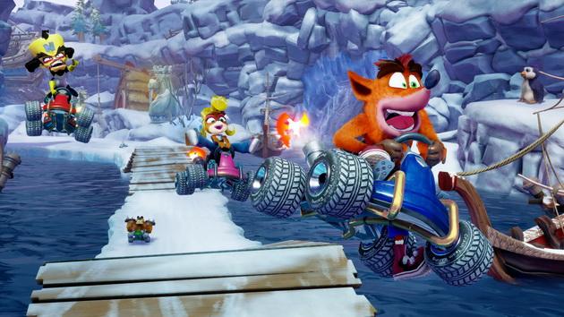 Crash Team Racing Nitro-Fueled - zawodnicy