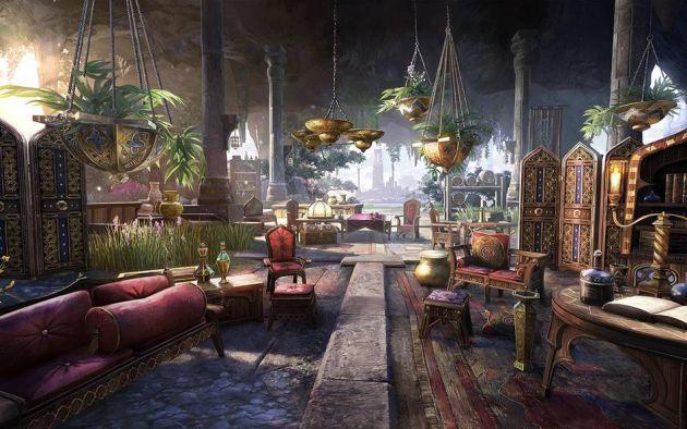 The Elder Scrolls Online - wyposażenie domu