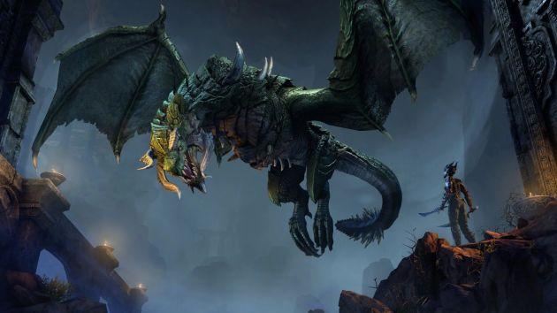 The Elder Scrolls Online: Elsweyr - smok