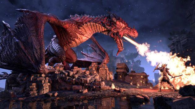 The Elder Scrolls Online - smoki w Sunspire