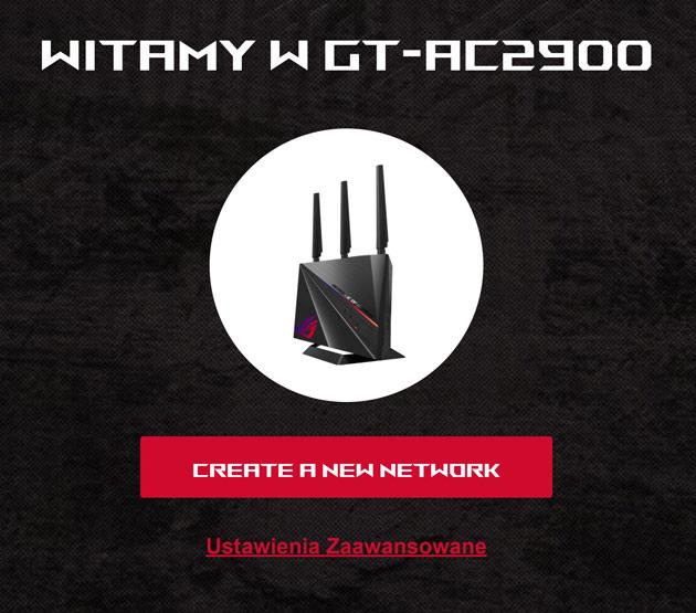 ASUS ROG GT-AC2900 stwórz sieć
