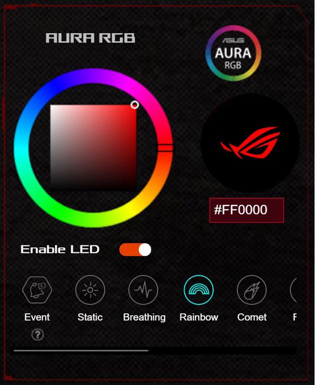 ASUS ROG GT-AC2900 aura rgb