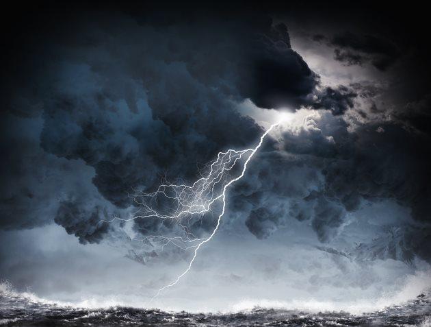 mapa burz na telefonie, gdzie jest burza