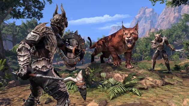 The Elder Scrolls Online - koty z Elsweyr