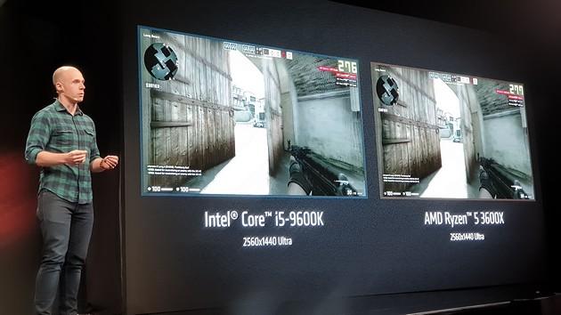 AMD Ryzen 5 3600X vs Core i5 9600K
