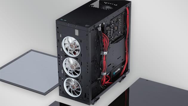 Test FSP Fortron CMT 510, czyli szklana wizja obudowy
