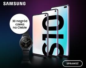Zostaw opinię o Samsung Galaxy S10 i wygraj Galaxy Watch!