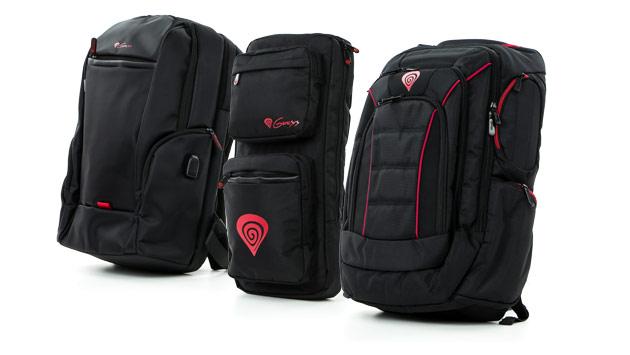 Genesis Pallad 300, 400 i 500 - rzut okiem na plecaki dla gracza