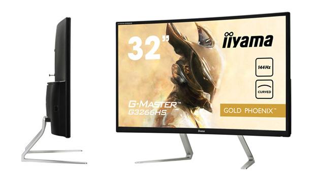 iiyama G-Master G3266HS – 32-calowy monitor (tylko) do gier